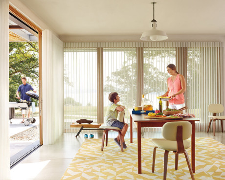 Luminette Privacy Sheers Vertical Blinds