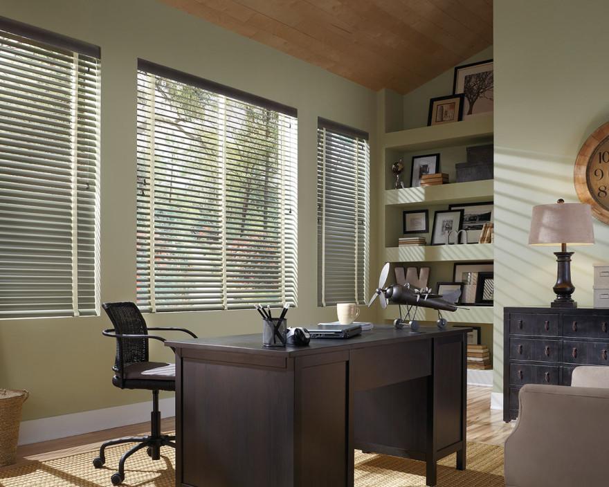 natural elements aluminum blinds